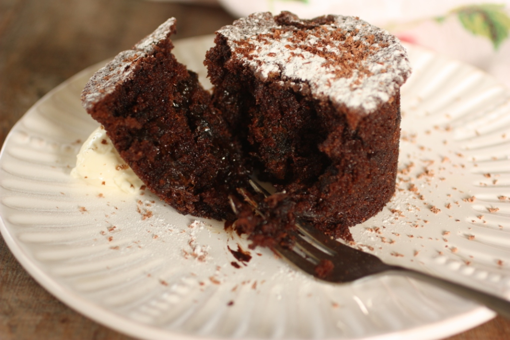 Chocolate and Prune Pudding cake 2