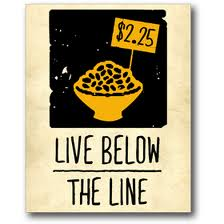 live below the line 2