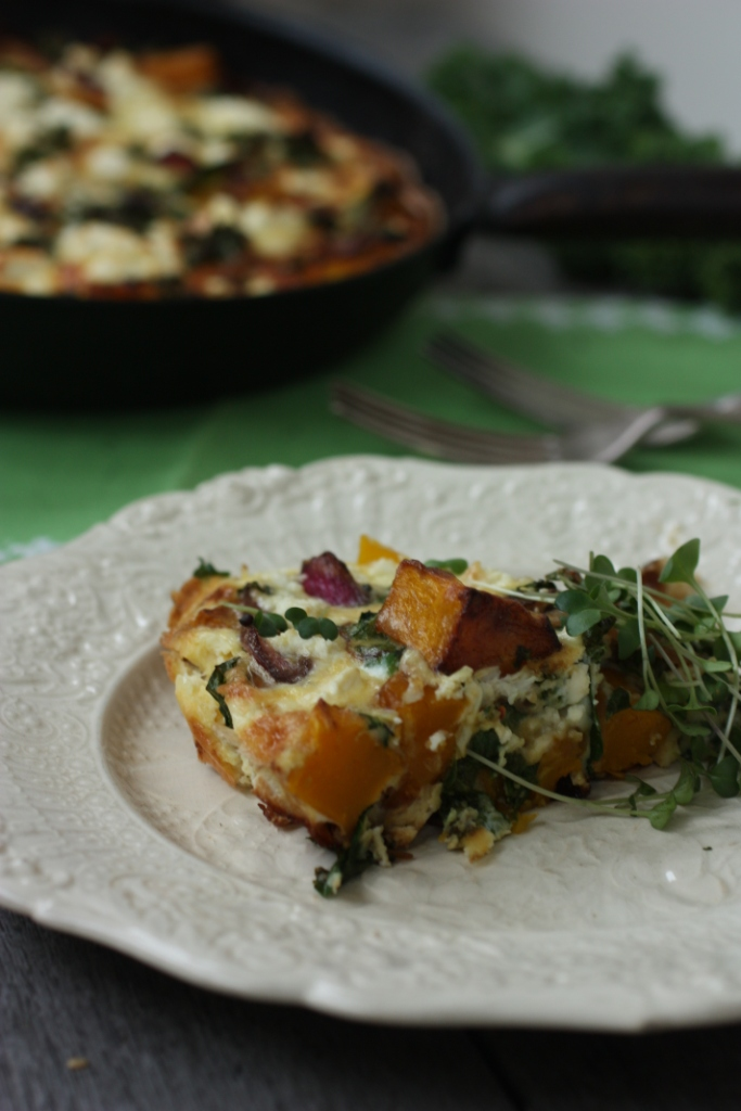 pumpkin frittata recipe