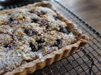 Spice Blackberry Tart