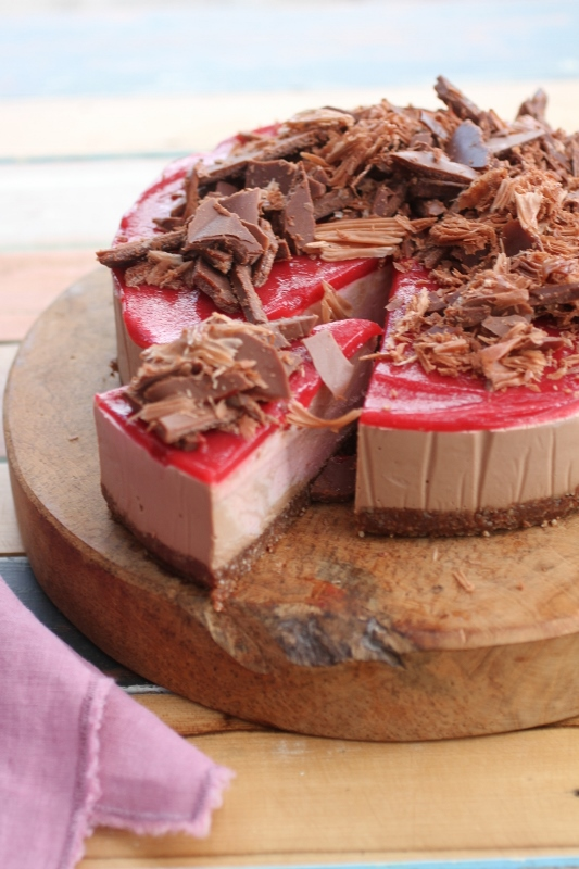 Punnet Cacao Raspberry Cheesecake